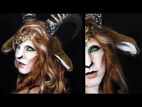 DIY Faun Ears | Fantasy Ear Tutorial - YouTube