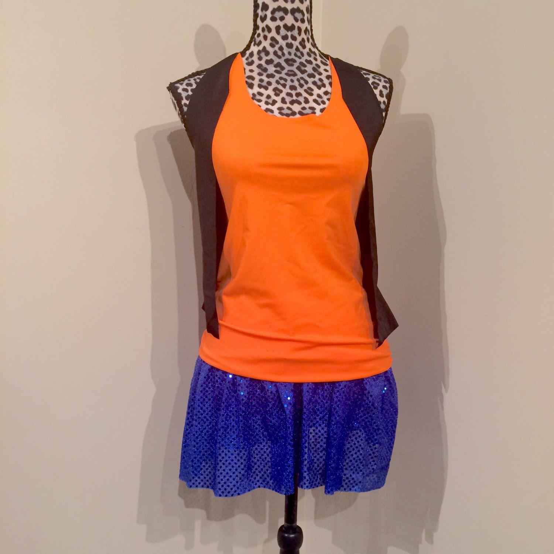 Goofy running costume -Shirt and running skirt by