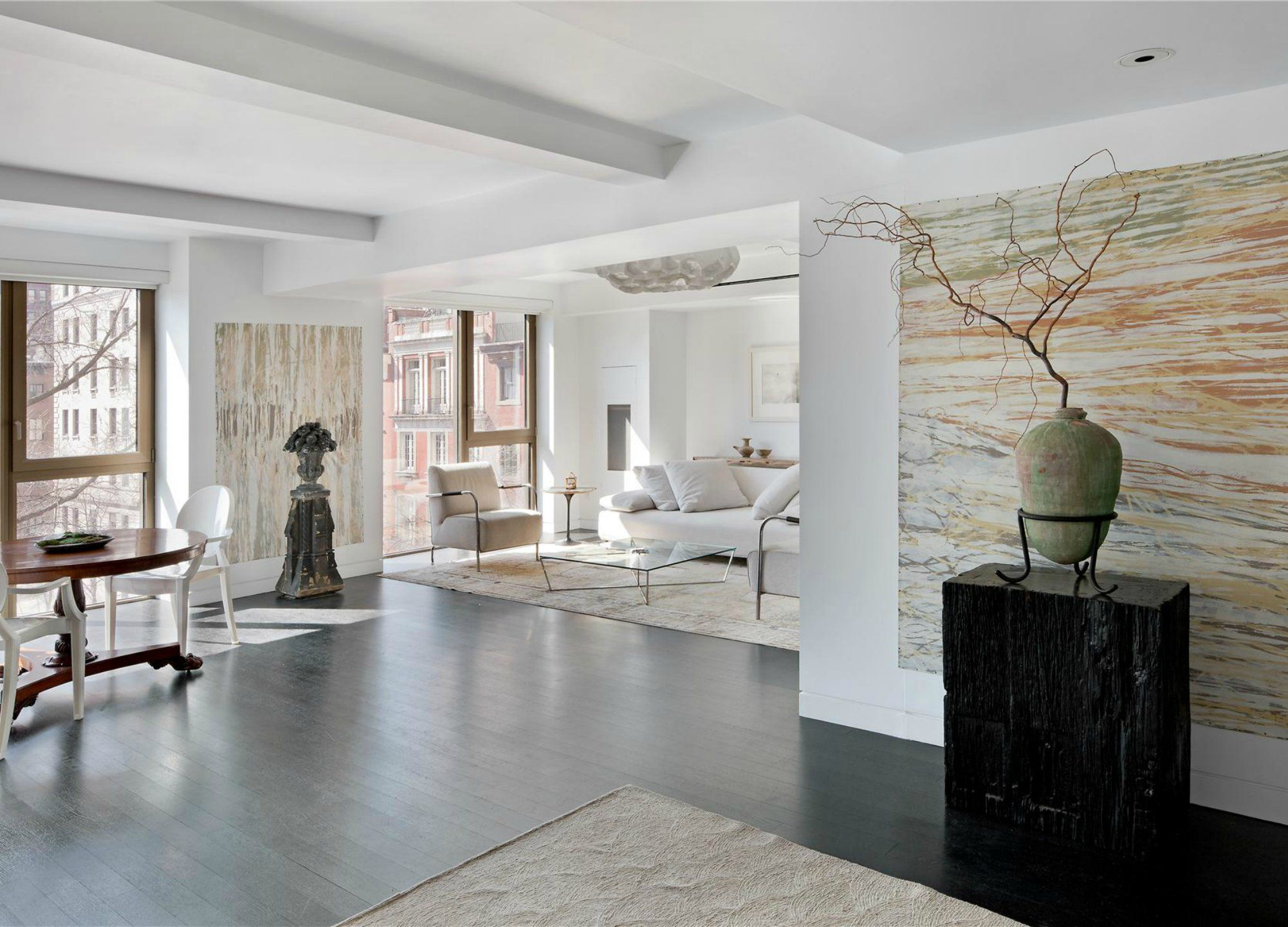 Karl Lagerfeld S Apartment Manhattan Celebrity Houses Pent House New York Apartments