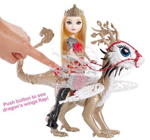 Dragon's Wings Flap to Imitate Flight!