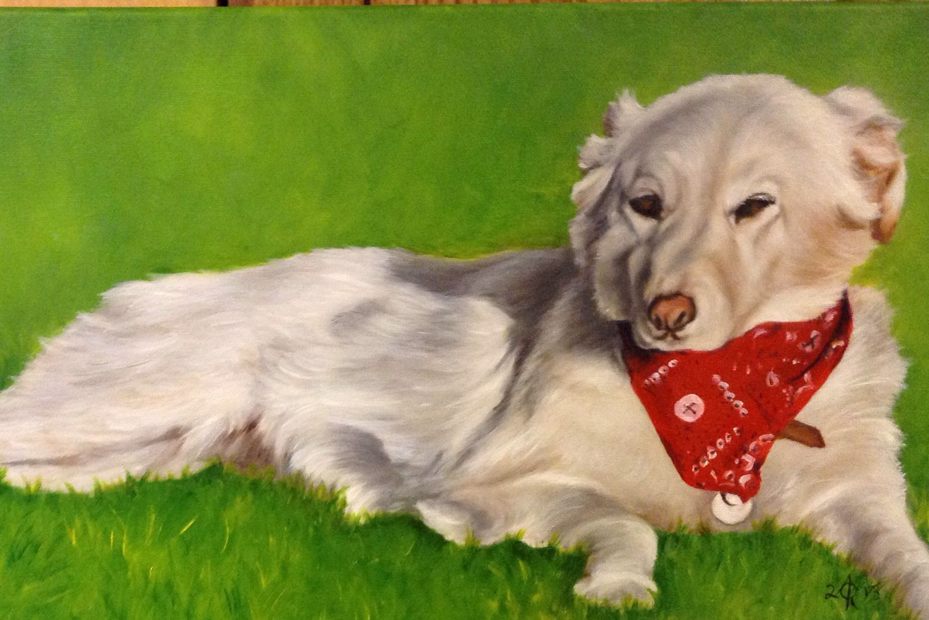 12x24 oil painting by Ann Ohr