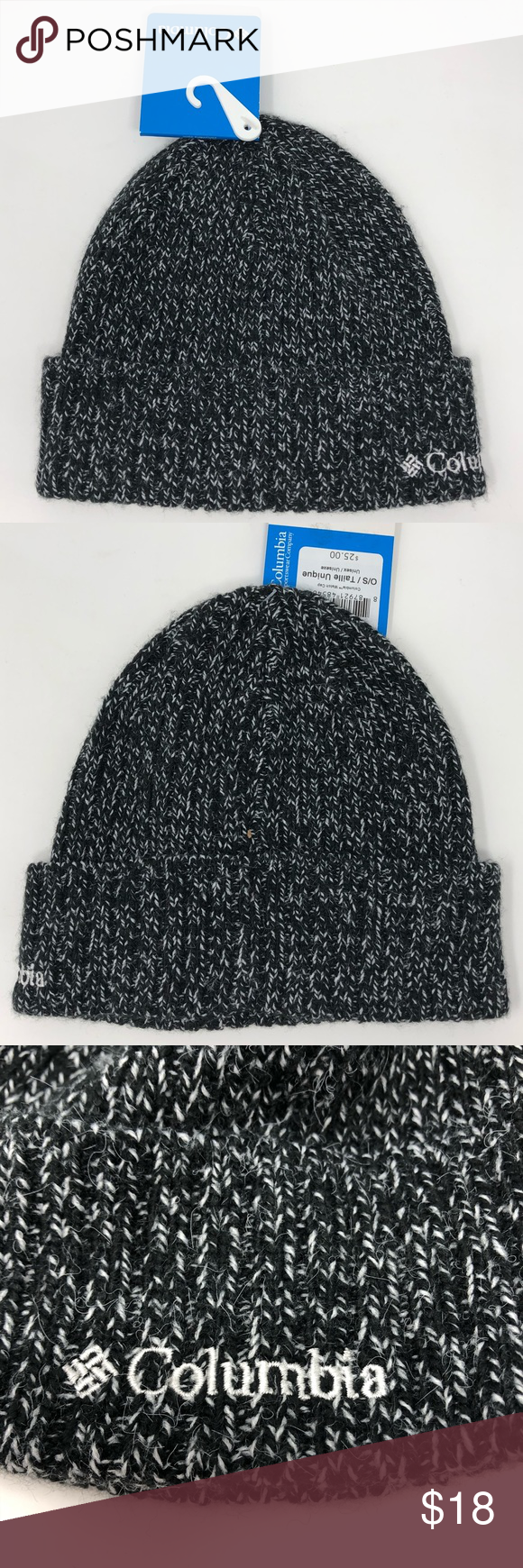 NWT Columbia Watch Cap Marled Knit Unisex Hat New with tags Columbia  Sportswear Watch Cap Knit f167936bbe9