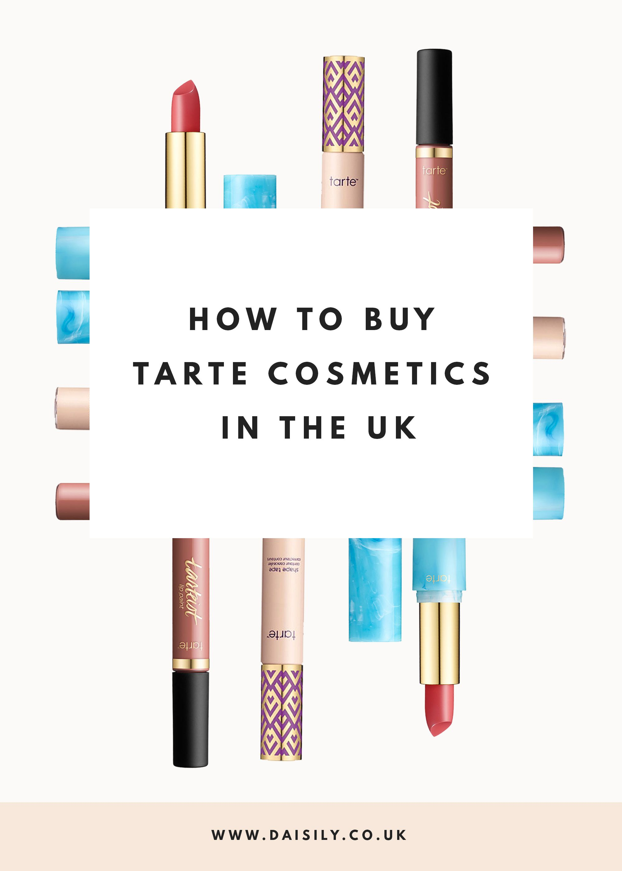 Getting Tarte Cosmetics In The UK Shape Tape Concealer