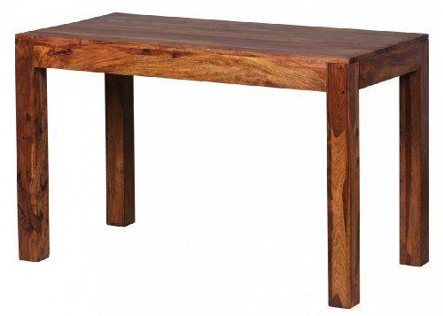 WOHNLING Esstisch Massivholz Sheesham 120 X 60 X 76 Cm Esszimmer Tisch  Design Küchentisch Modern