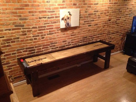 CUSTOM Reclaimed Wood Shuffleboard Tables By MitchellWoodNSalvage
