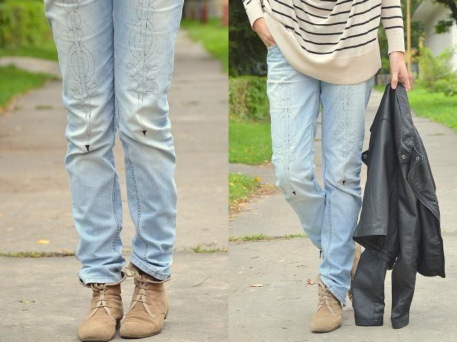 folk jeans / recyveci » SAShE.sk - slovenský handmade dizajn