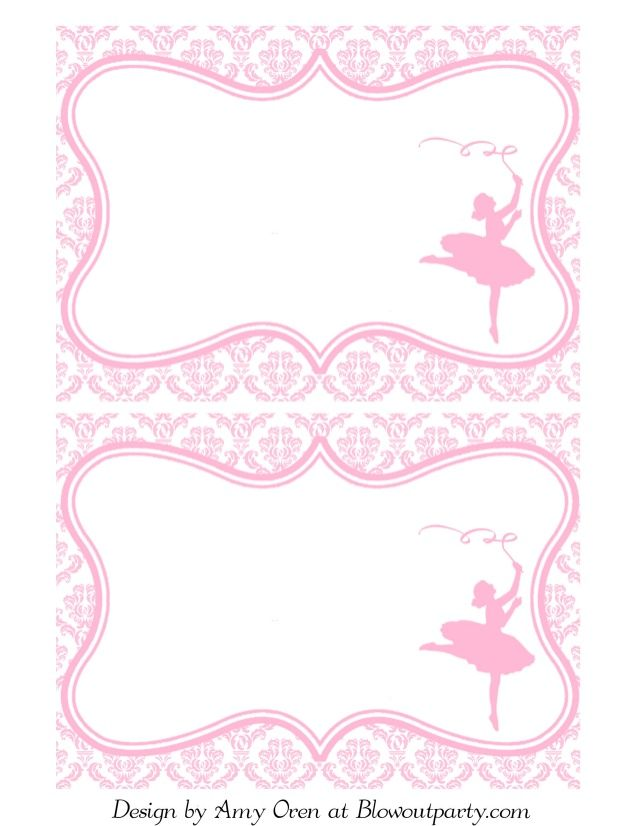 barbie birthday invitations templates free - Google Search - free birthday template invitations