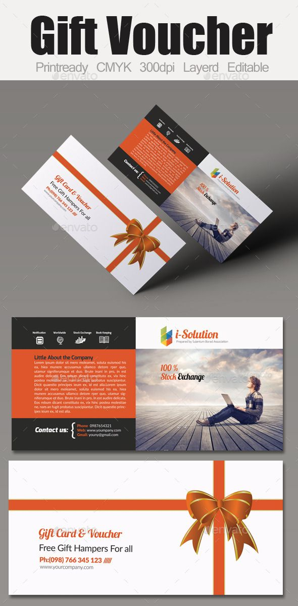 Multi Use Business Gift Voucher Template Gift Voucher Templates
