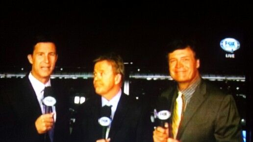 Rick Allen, Phil Parsons and Michael Waltrip