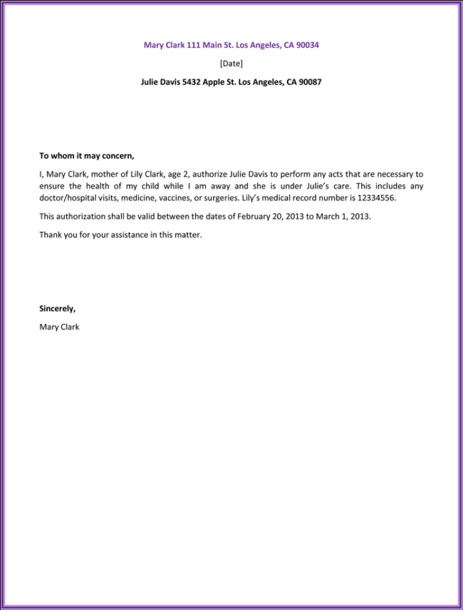 Authorization Letter For Birth Certificate Nso Documents Letters