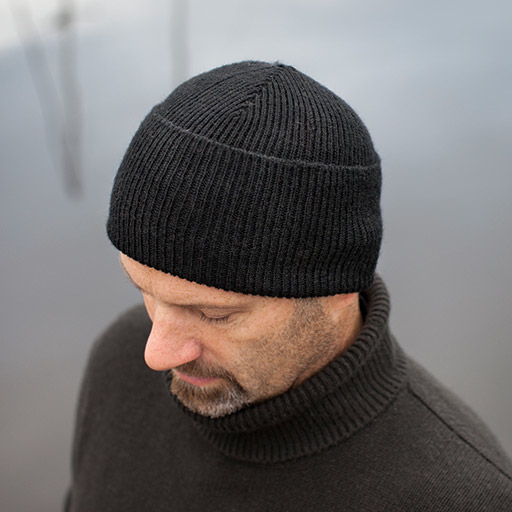 Ribbed Watch Cap & Beanie – Knit Purl for Monte   Knitting ...