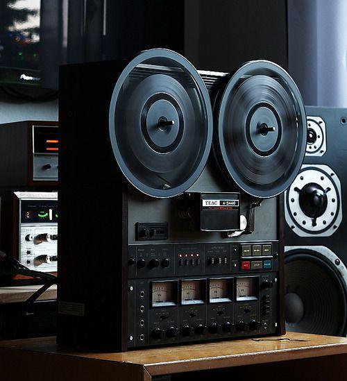 Magnétophone Tape Recorder TEAC A 3440 - www.remix-numerisation.fr - Numérisation de bande magnétique audio - Restauration Audio