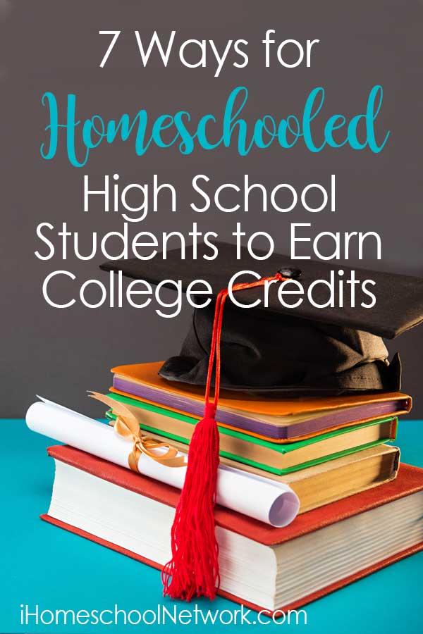 Photo of 7 Ways for Homeschooled High School Students to Earn College Credits – iHomeschool Network
