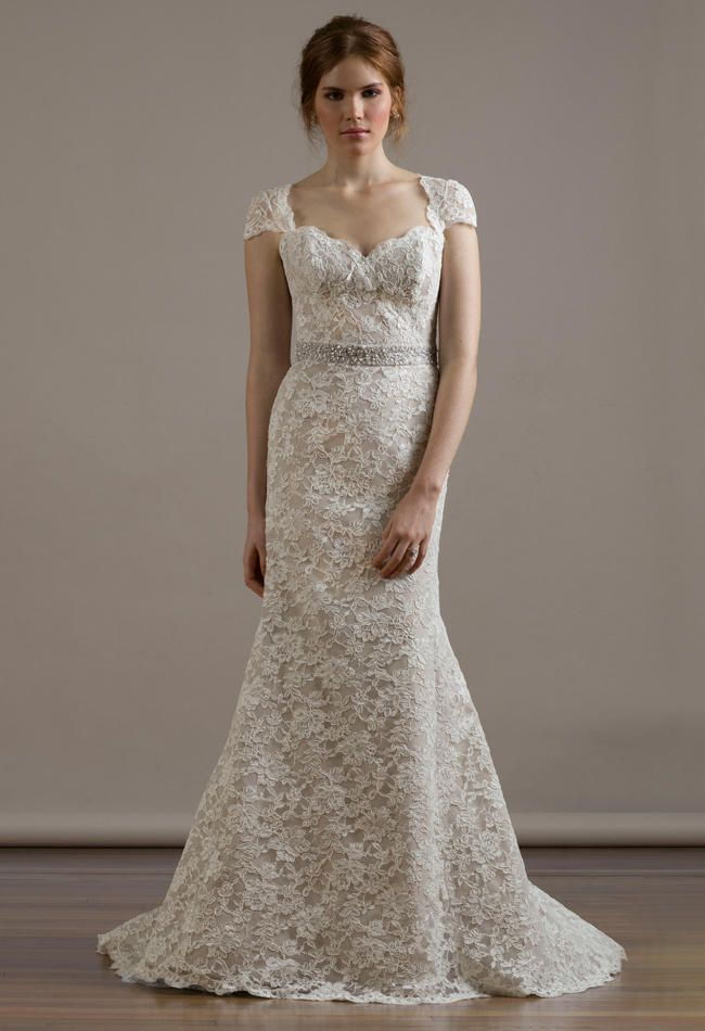 Liancarlo Wedding Dresses 2015 Incorporates Romantic, Re-Embroidered Lace for Fall | TheKnot.com