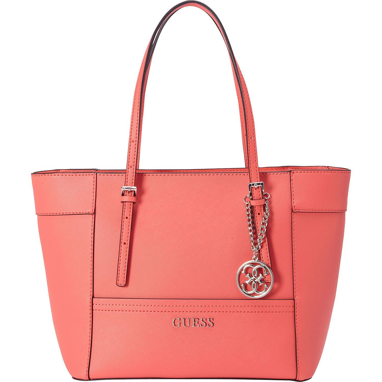 GUESS Delaney Signature Small Classic Tote All Handbags