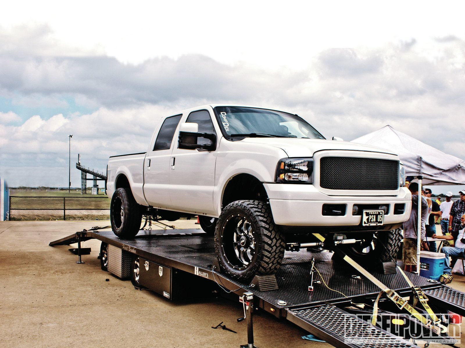 Check out the white shark a 2005 ford f 250 that is fast