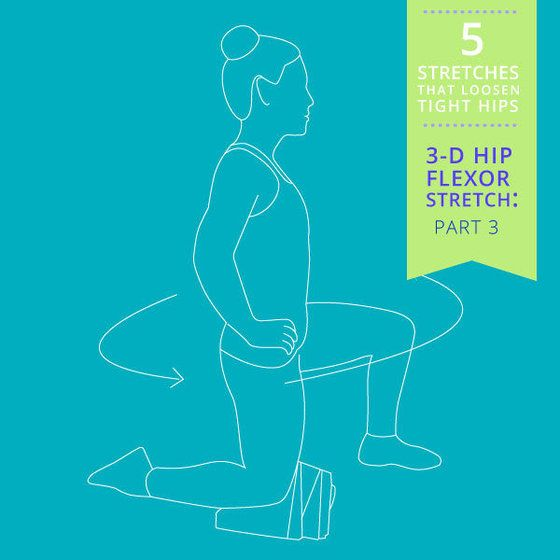 5 Stretches That Loosen Tight Hips | YouBeauty