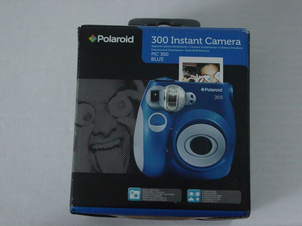 5bd699dbca Polaroid PIC 300 Instant Camera Analog- Blue BEST OFFERS WELCOMED ...