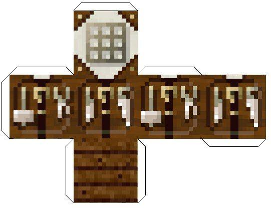Minecraft Paper Cutouts Houses Minecraft Minecraft Crafts