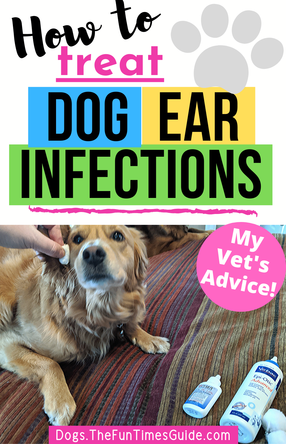 How To Clean Treat A Dog S Itchy Smelly Ears Vet Approved Products To Use Dogs Ears Infection Dog Ear Infection Remedy Dog Yeast Infection Ear