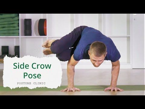 video  corepower yoga posture clinics side crow pose