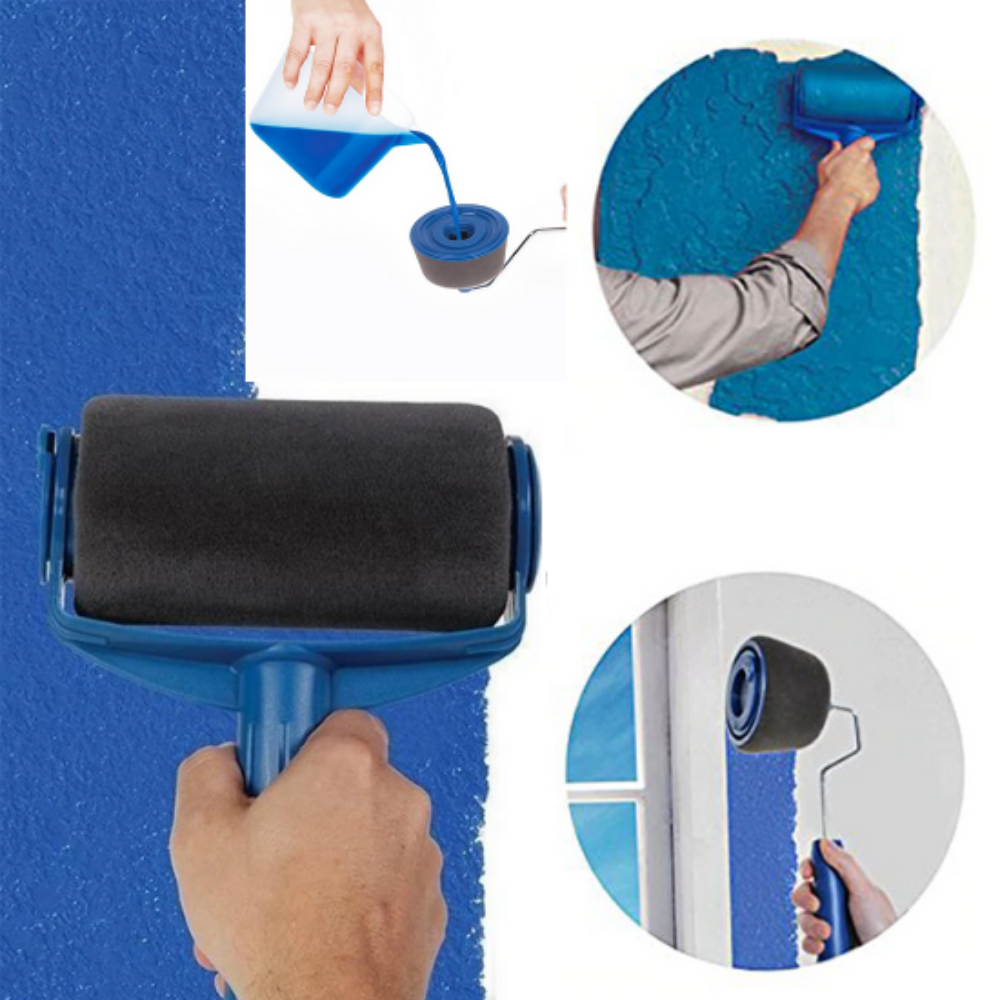 Paint Roller Brush Painting Handle Tool Paint Roller Roller Brush Roller
