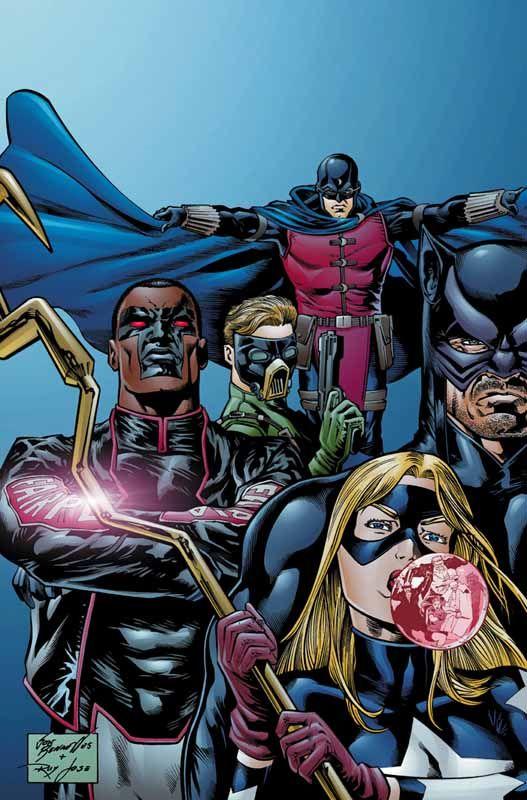 Justice Society Of America Joe Bennett Dc Comics Characters Comic Heroes Comics