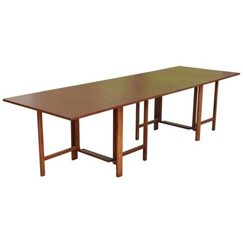 Bruno Mathsson U0026 Gateleg Extending Dining Table   Dining Tables   Tables    Furniture   Catalog   NY Showplace Antique And Design Center