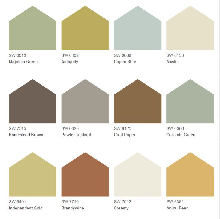 Tuscan Paint Colors Sherwin Williams For The Back And Side Of House