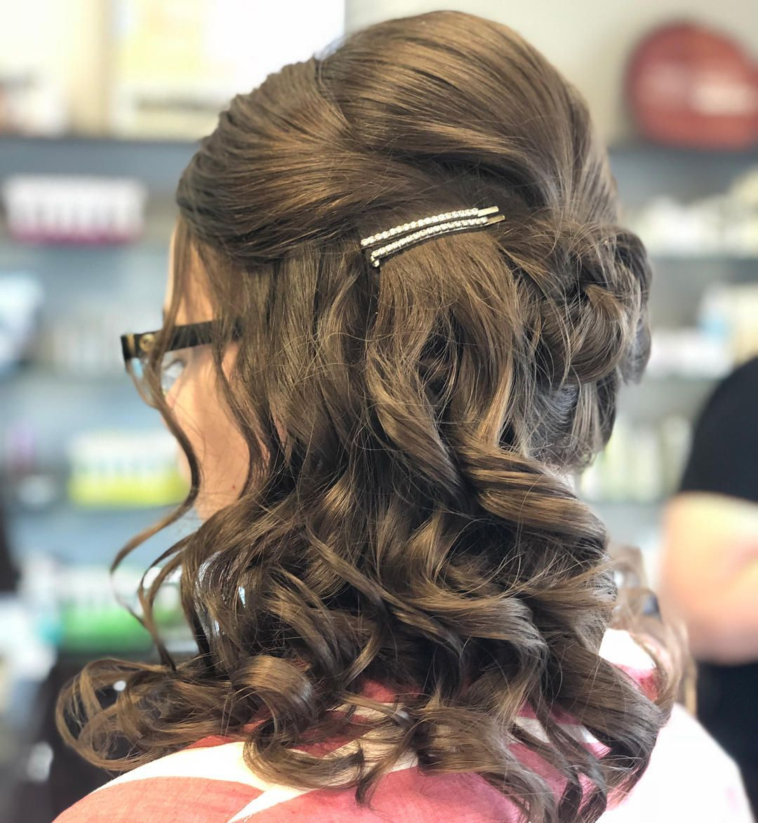 lovely easy hairstyle half up half down secrets of stylish