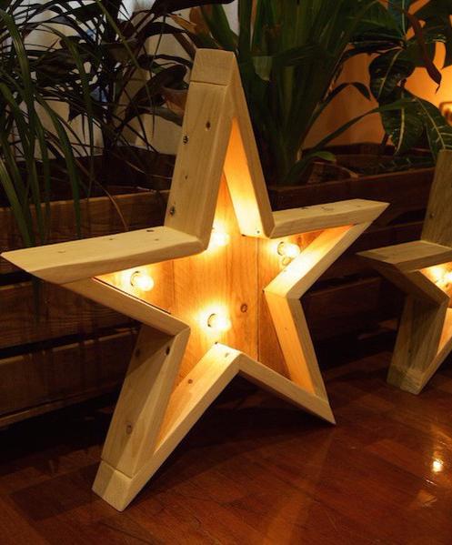 Comprar lampara hecha con palets diy lamps lanterns - Lamparas con palets ...