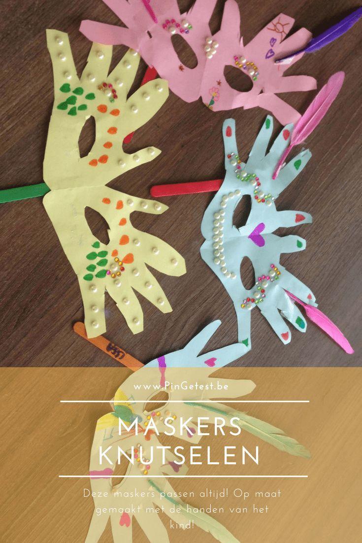 Leuke maskers maken met kids | PinGetest | Mama Blog