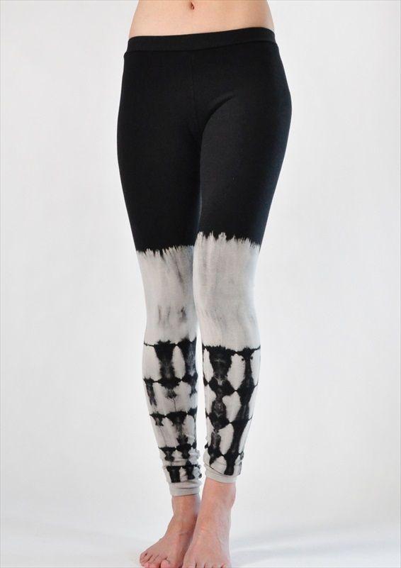 3acb8ca6f410b1 Jala Clothing Dip Dye Leggings Black @ www.downdogboutique.com $64.00  #YogaPants #YogaClothing #Yoga