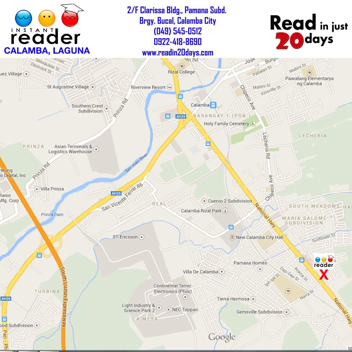 CALAMBA CENTER MAP Weng Atencia Center Manager Ratenciayahoo - Calamba city map