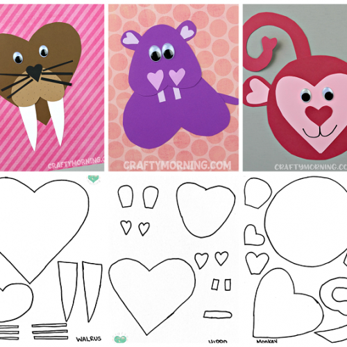 List of Easy Valentine's Day Crafts for Kids | Valentines ...