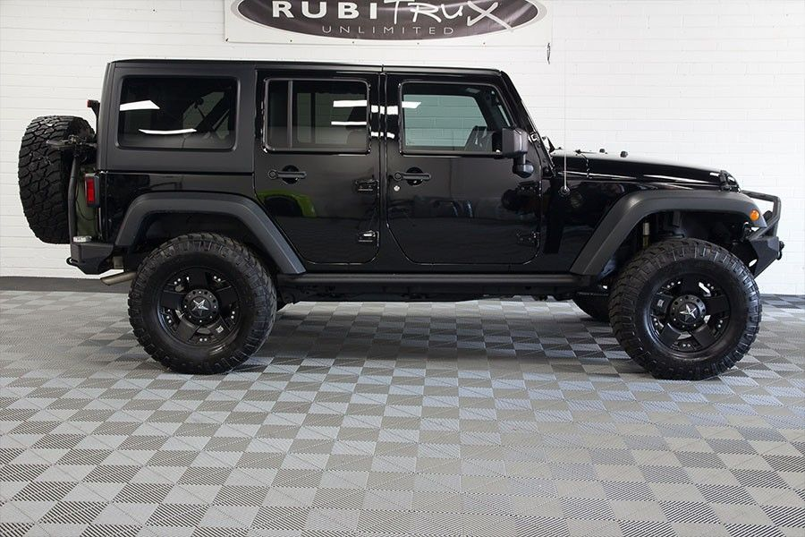 PreOwned 2014 Jeep Wrangler Unlimited Black Jeep