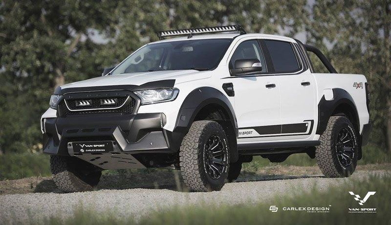 M Sport Ford Ranger Available In The Uk And The European Markets This Fall Ford Ranger 2019 Ford Ranger Ranger Truck