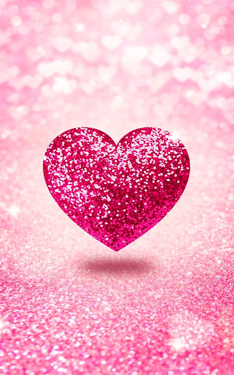 29+ Pink Heart Wallpaper For Mobile PNG