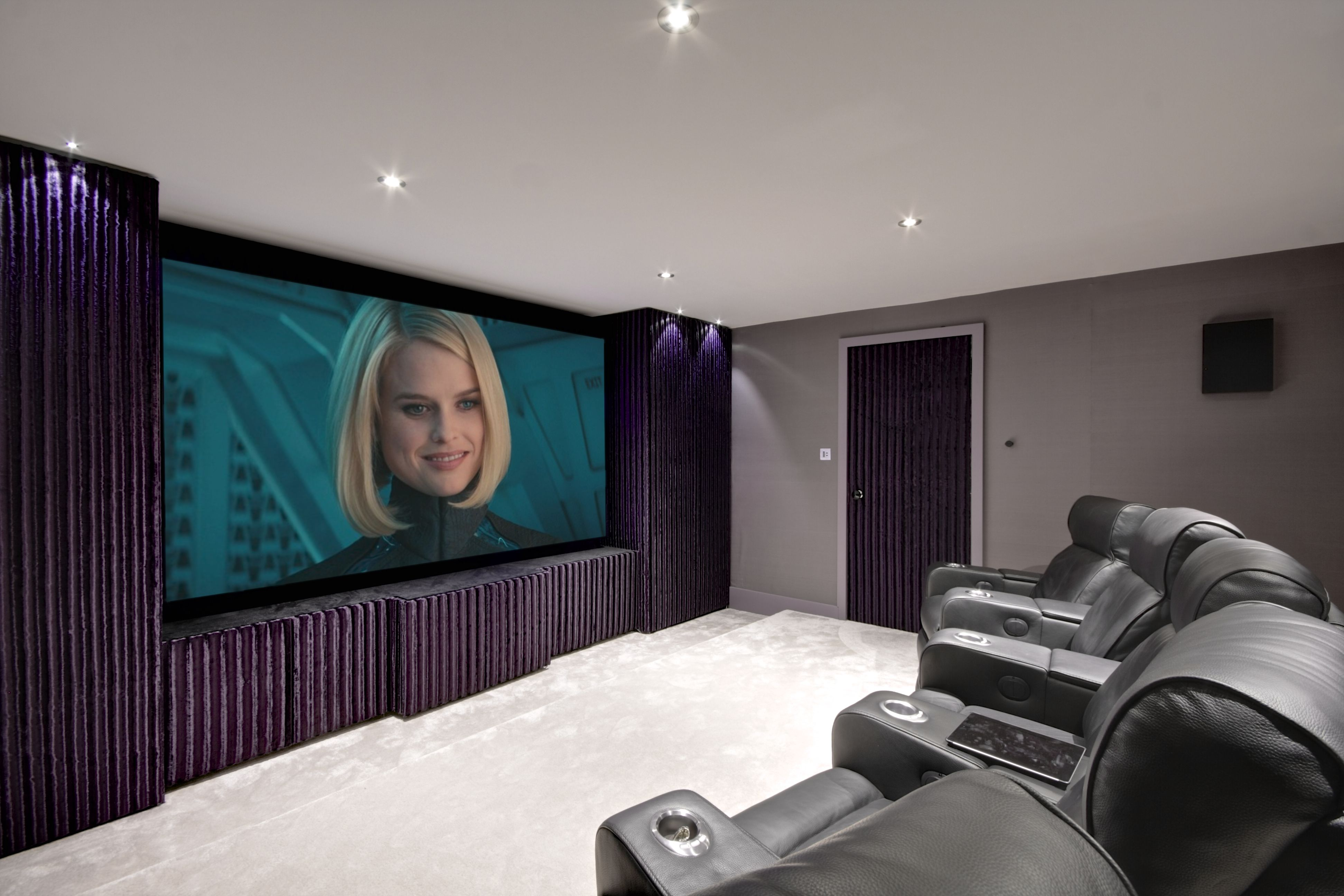 home cinema garage conversion home theater design home theater setup home theater seating  [ 3888 x 2592 Pixel ]