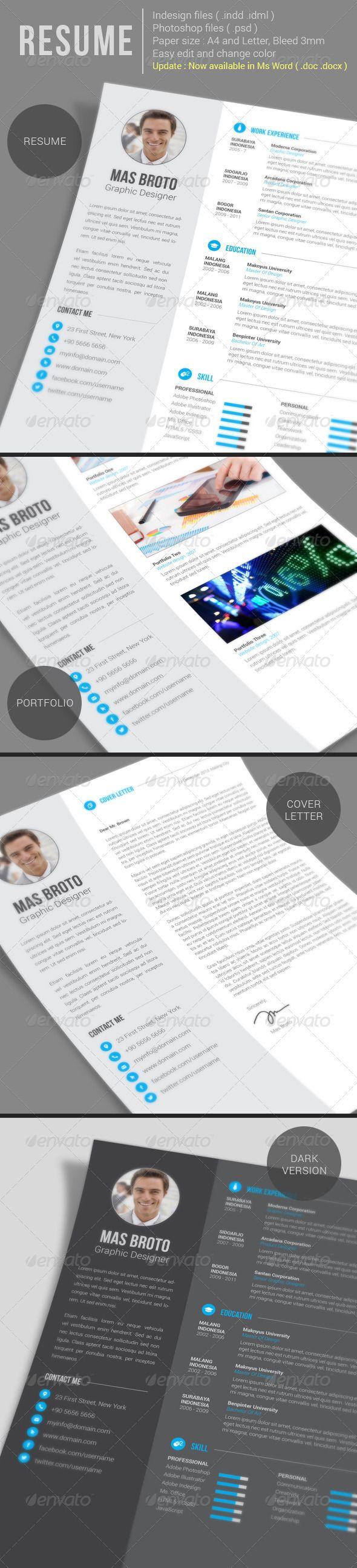 Resume (update) Resumes Stationery Resume design