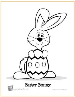 Easter Bunny With Egg