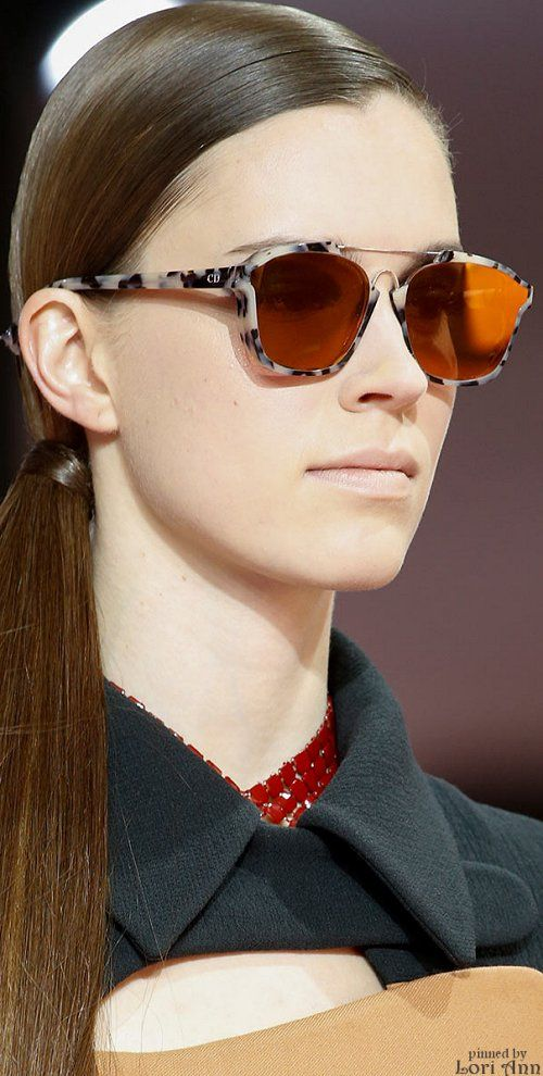 06cc2511a59 Christian Dior Fall 2015 RTW Glasses Style