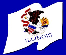 Flag Of Illinois Flags Of Our Fathers States And Capitals Illinois