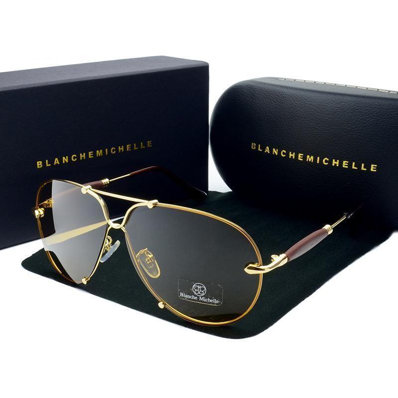 NEU BMW Brand Men Sonnenbrille Polarized Classic UV400 Men Brille Brand Box