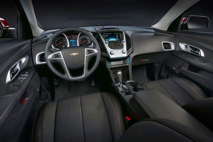 2017 Chevrolet Equinox Premier Interior
