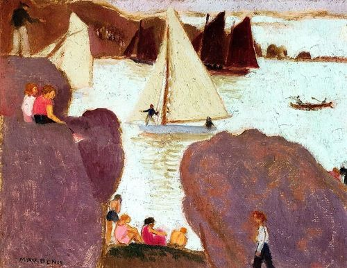 Day of Racing at Ploumanach Maurice Denis - 1939