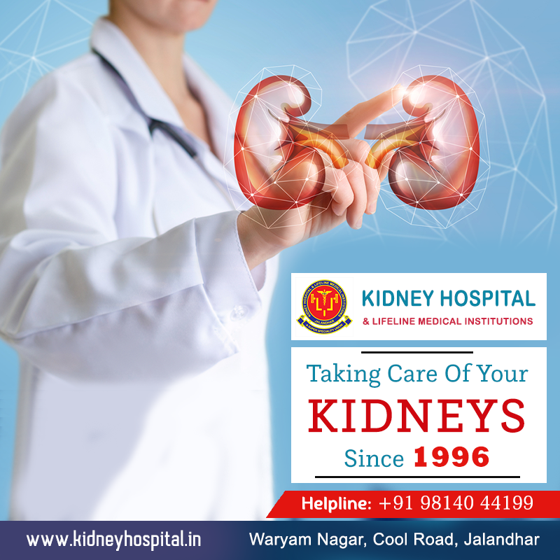 Kidney transplantation was introduced at our hospital