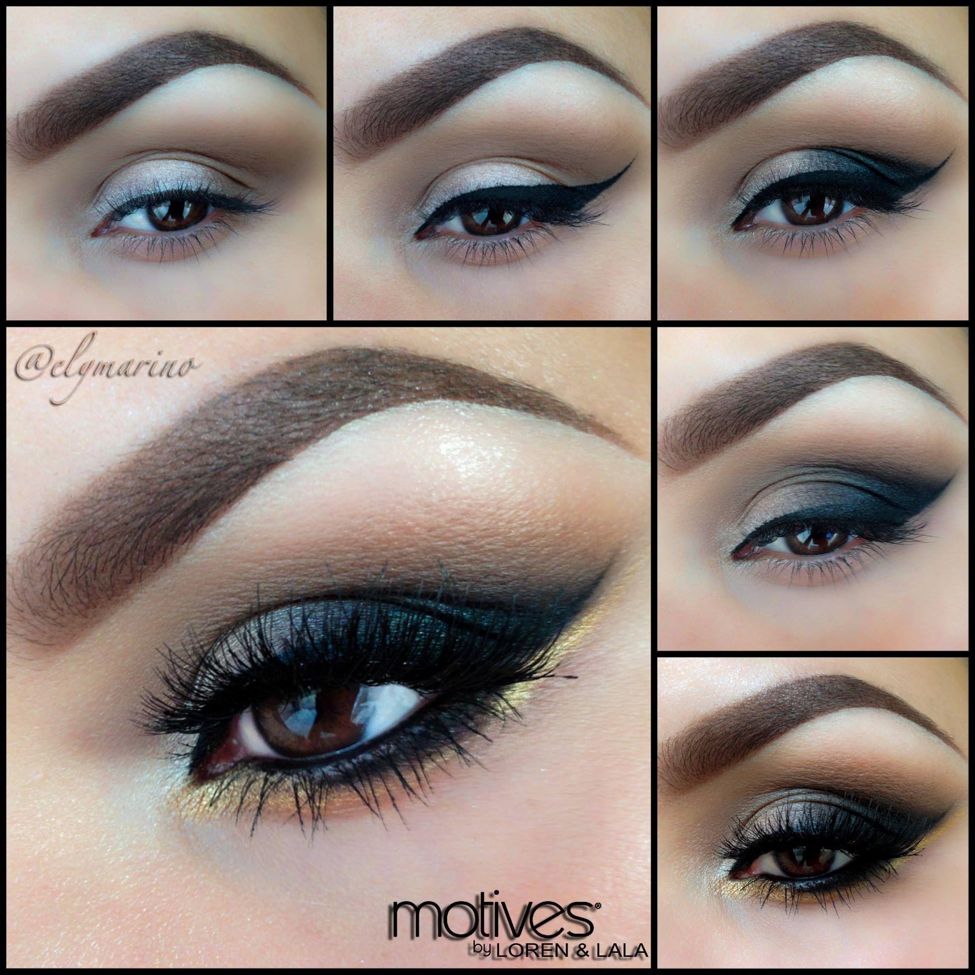 Best Eye Makeup for Black Dress