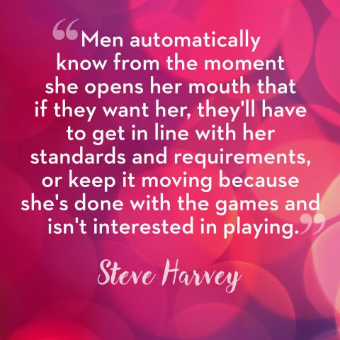 harvey dating advice Steve and his wife, marjorie harvey, provide relationship tips and steve honors a woman ten women participate in the steve harvey dating camp.
