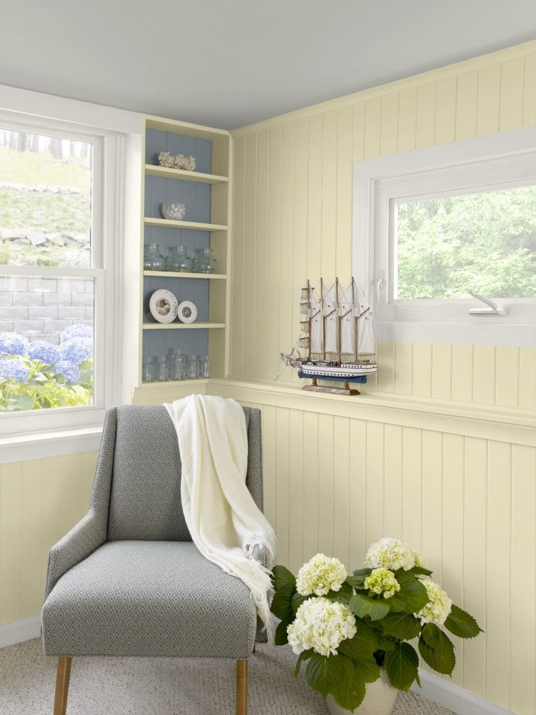 lemon sorbet 2019-60 Home Office Benjamin Moore I don't even like yellow